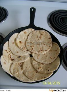 Tortilla moučná Easy, Pancakes, Breakfast, Tortillas, Morning Coffee, Mince Pies, Pancake, Crepes