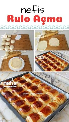 How to make a delicious unrolling recipe? - mazez - Cuisine et Boissons Roll Ups Recipes, Easy Cake Recipes, Dessert Recipes, Yummy Rolls Recipe, Delicious Desserts, Yummy Food, Time To Eat, Turkish Recipes, Different Recipes