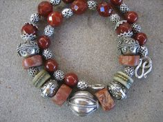 SHOPPING FOR TRIBAL BEADS IN AFRICA | TRIBAL NECKLACE AFRICAN beads ethnic jewelry Summer fashion Tibetan ...