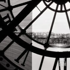 Clock Musée d'Orsay II Art Print at Art.com