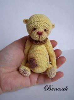 Thread artist crochet Bear (vintage styl) by Benesak   eBay