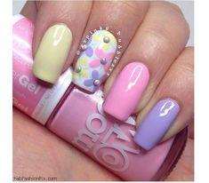 Pastelowy manicure na wiosnę. Słodkie wzorki, które pokochacie!