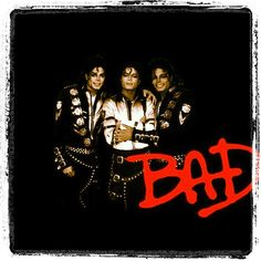 """Michael Jackson """"Bad"""" Photo by themikeofficial"""