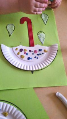 Kolorowe parasolki Dominika Kobylak Jesień Kreatywnie z dzieckiem