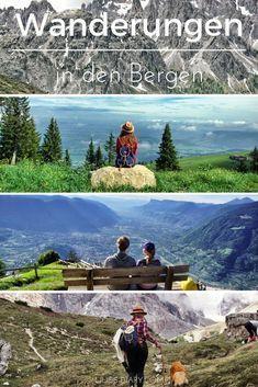 Die schönsten Wanderungen in den Bergen. Kommt mit auf eine atemberaubende Reise in die Welt der Berge.