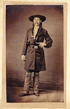 "Mesmerizing Historical Photos From The Wild Wild West |  Historian Insight  ""I never killed a man who didn't need killin'""  ""Wild Bill"" Hickhock"