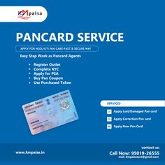 Pan Card Software For Online Pan Card Service In India Label Software Cards White Label