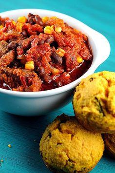 Chipotle chili. Crock pot recipe