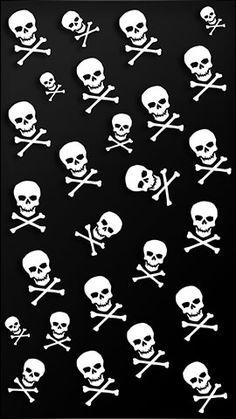 Cell Phones Plus Witchy Wallpaper, Skull Wallpaper, Black Wallpaper, Pattern Wallpaper, Qhd Wallpaper, Wallpaper Backgrounds, Horror Photos, Funny Phone Wallpaper, Skull Artwork