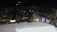 Marcus Cleveland lands a quad cork 1800 in Men's Snowboard Big Air, the first quad cork in competition history, Friday night at X Games Aspen 2017.