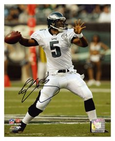 db53effa5b0 Donovan McNabb Philadelphia Eagles Autographed Football Season, Football  Players, Football Helmets, Nfl History