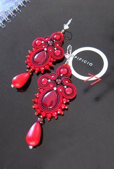 Soutache earrings. Design Giada Zampar -Opificio77-