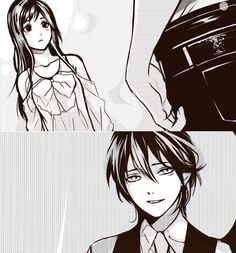 Yatori - ok I'm totally fangirling over Yato's hand being all cute in his pocket...and his semi shown butt XD