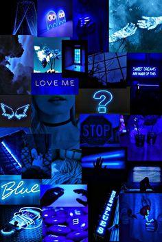 Blue 💙 | Iphone wallpaper themes, Dark wallpaper iphone, Iphone wallpaper landscape