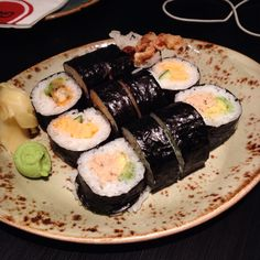 Gochi (Southbank): Spider Roll, Tamago and Tuna Avocado [5/10].