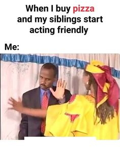 Just because it's National Sibling Day! Funny Vid, Crazy Funny Memes, Cute Memes, Really Funny Memes, Funny Clips, Stupid Memes, Haha Funny, Funny Jokes, Funny Stuff