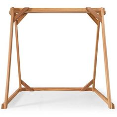 Union Rustic Ardoin Swing a Frame Size: Porch Swing With Canopy, Wicker Porch Swing, Porch Swing With Stand, Patio Swing, Canopy Outdoor, A Frame Swing Set, Frame Stand, Swing Pictures, Vintage Porch