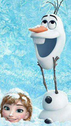Pra quem gosta de frozen ⛄