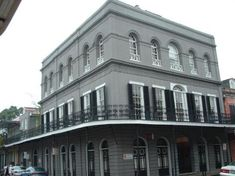 The Lalaurie Mansion, 1832, haunted ?---most who visited found it very spooky. Not open to the public now as it is owned by Johnny Depp.