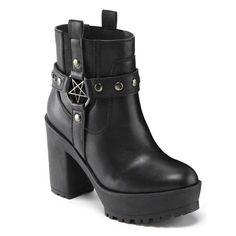 Killstar Gothic Okkult Plateaustiefel Stiefel & Winona Western - Cowboystiefel - Ideas of Cowboystiefel Platform Boots Outfit, Knee High Platform Boots, Thigh High Boots, Shoe Boots, Women's Shoes, Platform Shoes, Dansko Shoes, Pretty Shoes, Cute Shoes