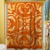 Found it at Wayfair - Mosaic Shower Curtain
