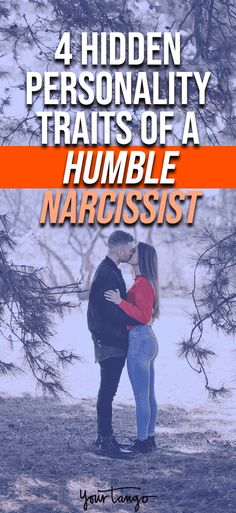 4 hidden personality traits humble narcissist