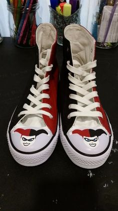 ea76f8189392 Harley Quinn Joker DC Comics Shoes