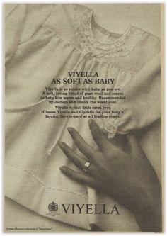 Viyella Baby Wear Magazine Advertisement Ad January 1970 Vintage Retro