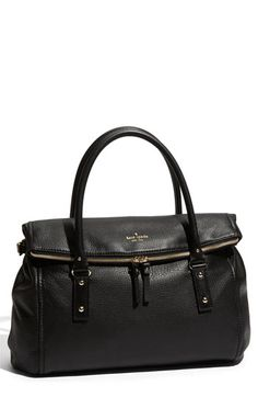 kate spade new york 'cobble hill - leslie' leather satchel