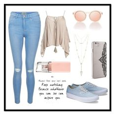 """""""Untitled #5"""" by lakeishajean on Polyvore featuring Sans Souci, New Look, Nanette Lepore, HUGO and House of Harlow 1960"""