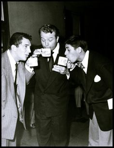 Dean Martin, Red Skelton and Jerry Lewis