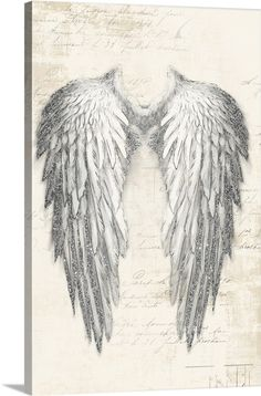 Angel Wings Tattoo On Back, Angel Wings Drawing, Angel Wings Painting, Wing Tattoos On Back, Angel Wings Art, Angel Art, Angel Tattoo For Women, Angel Tattoo Drawings, Angel Wings Wall Decor