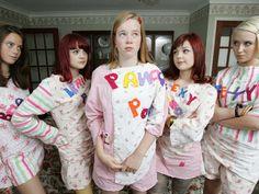 Effy, Katie, Pandora, Emily and Naomi from Skins generation 2