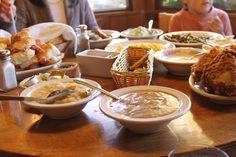 family time at the Daniel Boone Inn, in Boone, North Carolina