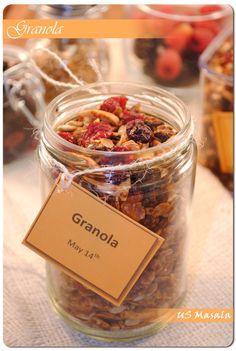 US Masala: Homemade Granola and Granola Trifle