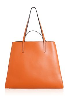 Clay & Golden Brown Shopping Bag by Marni for Preorder on Moda Operandi