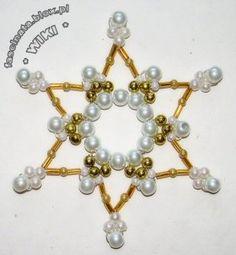 Gwiazdka z koralików