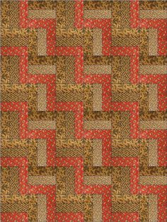 Mountain Trails Quilt Kit Precut - Nice easy to sew beginner quilt kit features fabrics from the Lodge and Lakeside Thimbleberries Collection.