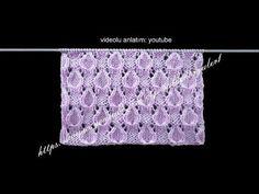 BİSİKLET YAKA ERKEK KAZAĞI Yapılışı - Detaylı Anlatım - YouTube Lace Knitting Patterns, Knitting Designs, Knitting Stitches, Crochet Designs, Baby Knitting, Stitch Patterns, Knitting Videos, Crochet Videos, Knitted Hats
