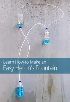 How to Make an Easy Heron's Fountain