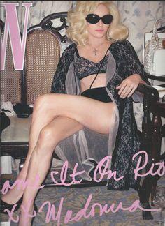 W magazine Madonna Daphne Guinness Jimmy Fallon Steve McQueen Zack Snyder