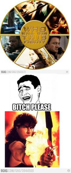 Celebrity Hunger Games