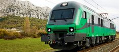 Locomotora de un tren