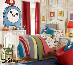 completely determined to make an AWESOME dr. seuss room for any and all children I have in the future. thanks to my awesomely handy dad that came make me crazy furniture and my artistic, decorating freak mother, I think I can make it happen!