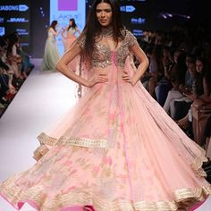 "Anushree Reddy's ""The Royal Courtyard"" Collection {Lakme Fashion Week 2015} - Gallery"