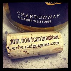 Corks around the world are suffocating, please drink more wine!