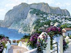 Hllls of Capri by Howard Behrens