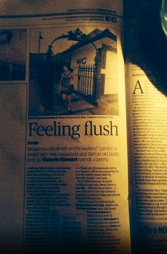 Great review of WC Clapham in the Evening Standard