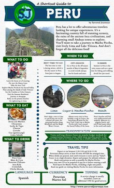 Shortcut guide to peru