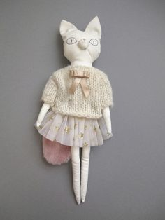 Lucille- adorable doll to dress in different outfits